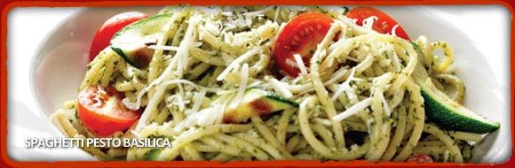 Spaghetti Warehouse Spaghetti Pesto Bascilia