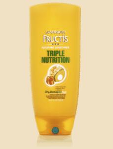 Garnier Fructis Triple Nutrition to promote freebie