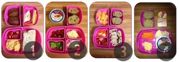 1-4 toddler lunch ideas