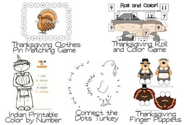 50 Thanksgiving Activities for Preschoolers