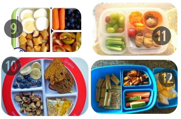 9-12 toddler lunch ideas
