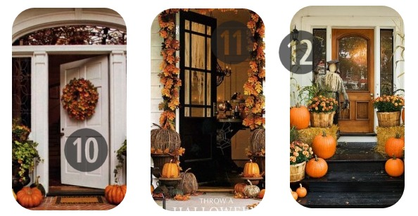 10-12 of the 25 DIY Fall Decorations