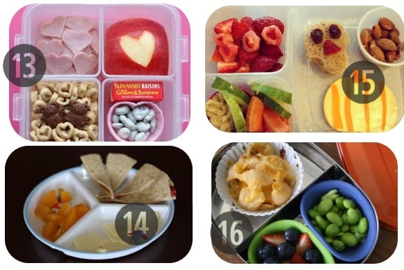 13-16 toddler lunch ideas