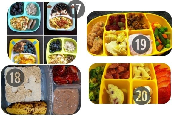 17-20 toddler lunch ideas