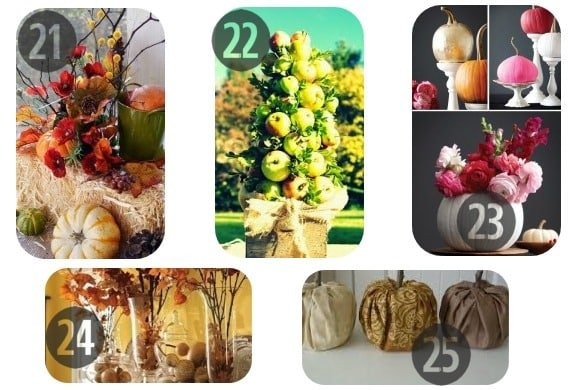 21-25 of the 25 DIY Fall Decorations
