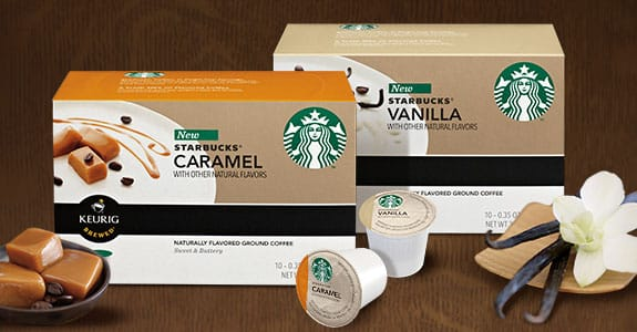 Starbucks K-cup packs to promote free sample offer