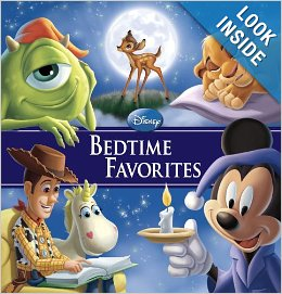 Disney Bedtime Favorites book to promote Amazon promo code