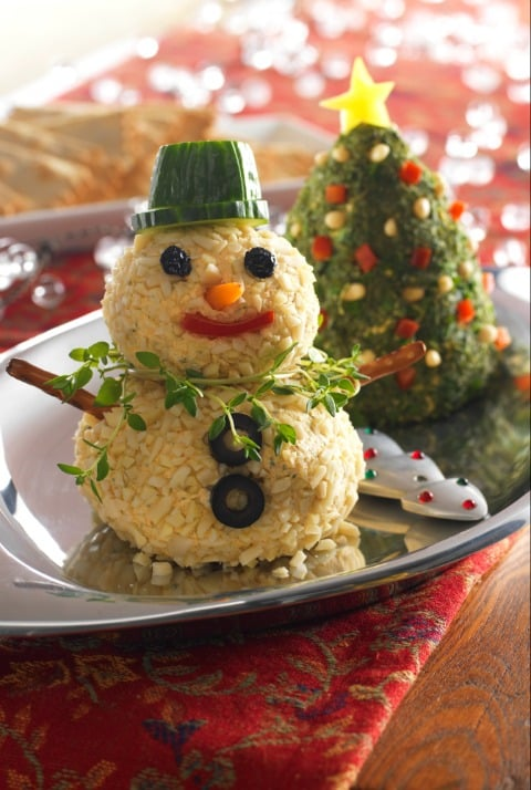christmas party appetizer ideas christmas tree snowman