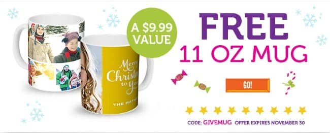 York Photo free mug banner to promote this week's best freebies, coupons, bargains and more