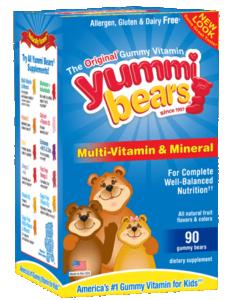 Hero Nutritionals Gummy Vitamins to promote freebie offer