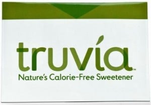 Truvia Sweetener to promote freebie offer