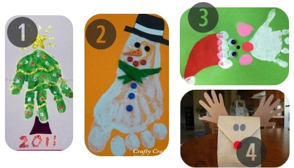 25 preschool christmas crafts kids will love for Holiday crafts for preschoolers to make