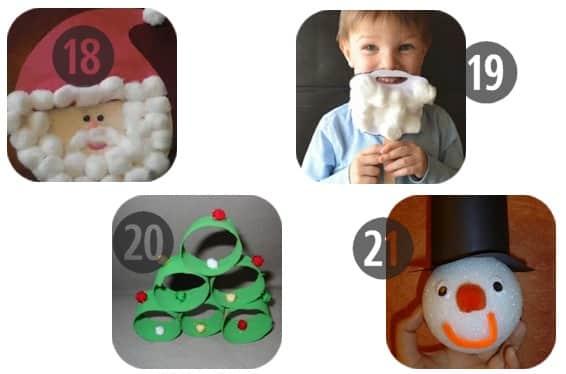 Four More Fun Preschool Christmas Crafts