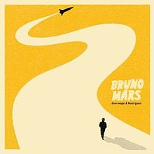 Bruno Mars Doo-Wops & Hooligans album cover to promote freebie