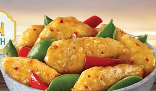 Golden Szechuan Fish to promote Panda Express coupon