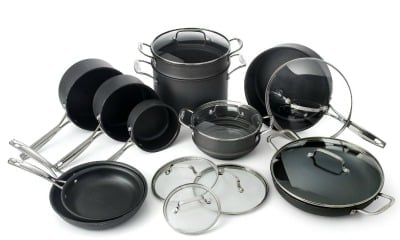 Amazon Best Bargain of the Day: Cuisinart Classic 17-Piece Hard-Anodized Nonstick Cookware Set Only $169.99 Shipped (Regularly $599.99)