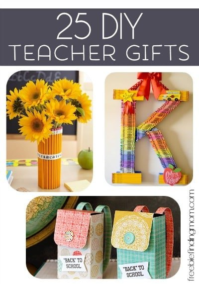 handmade gifts for teachers from students 25 diy gifts 8530