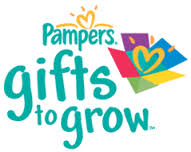 Pampers Gifts to Grow logo to promote new Pampers rewards codes