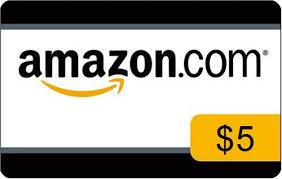 Savings Chart update: Got a FREE $5 Amazon eGift Card!