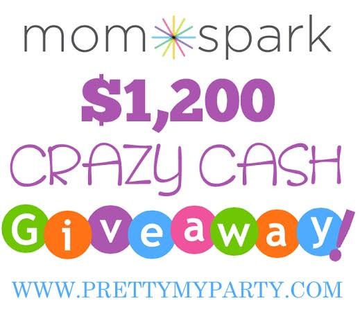 New Giveaway! $1,200 Crazy Cash Giveaway