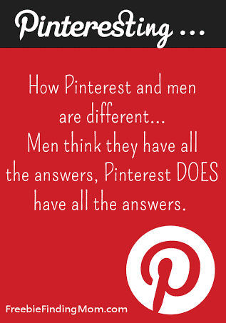A Little Pinterest Humor For You...