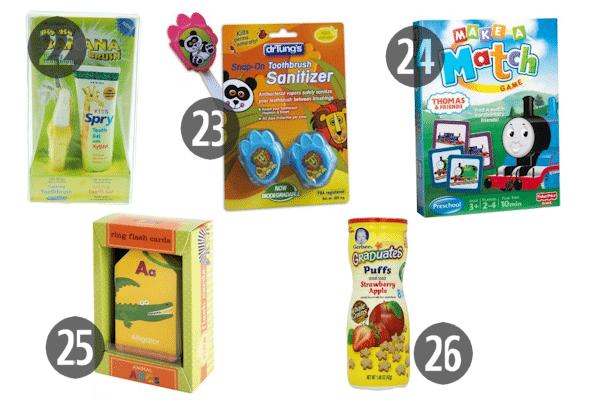 Easter Basket Ideas for Kids 22-26