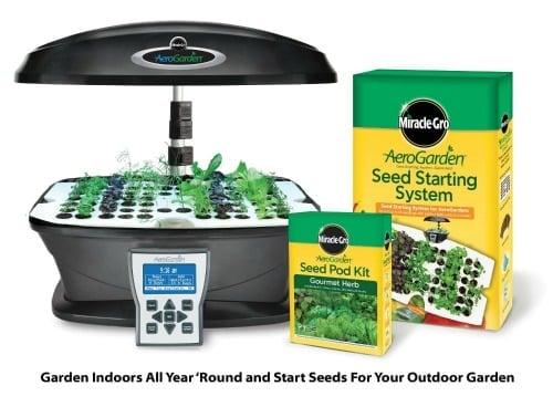 Amazon best bargain miracle gro aerogarden ultra for Indoor gardening amazon