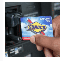 Congratulations to the Winner of the $25 Sunoco Gift Card Giveaway