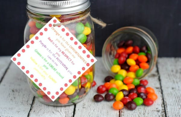 DIY Gifts For Teacher Appreciation Week Mason Jar