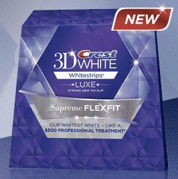 Freebie: FREE 3D Crest Whitestrips Sample