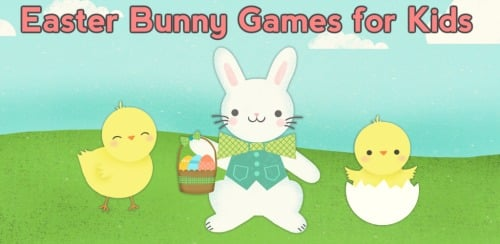 Easter Bunny Games for Kids to promote today's FREE Android app download