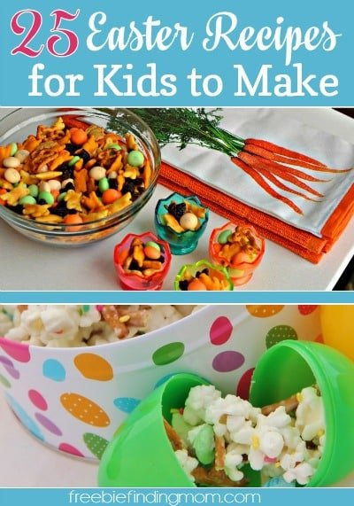 25 Easter Recipes for Kids to Make - Get the kids in the holiday spirit with Easter bunny cake pops, egg popsicles, Peeps S'mores and more.