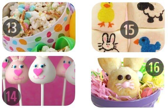 25 Easter Recipes for Kids to Make 13-16