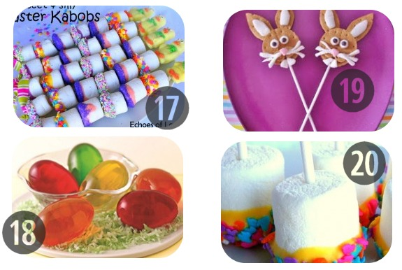 25 Easter Recipes for Kids to Make 17-20