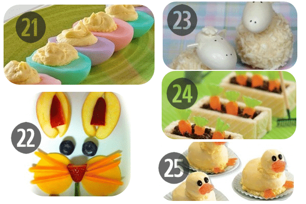 25 Easter Recipes for Kids to Make 21-25
