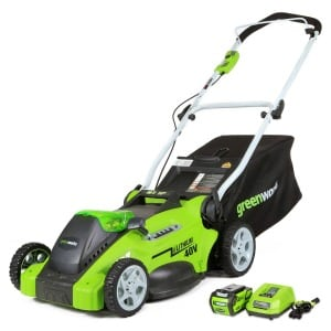 Amazon Best Bargain of the Day: Up to 30% Off GreenWorks G-MAX 40-Volt Mowers