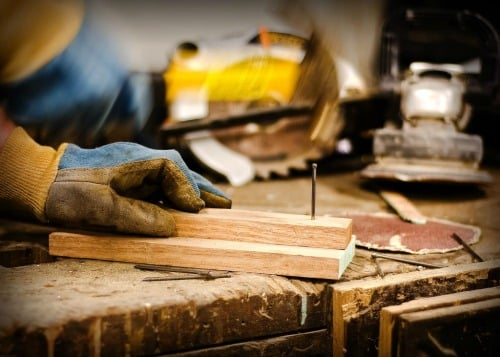 Realistic Frugal Living Tips - woodworking