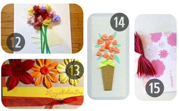 25 Homemade Mother's Day Cards 12-15