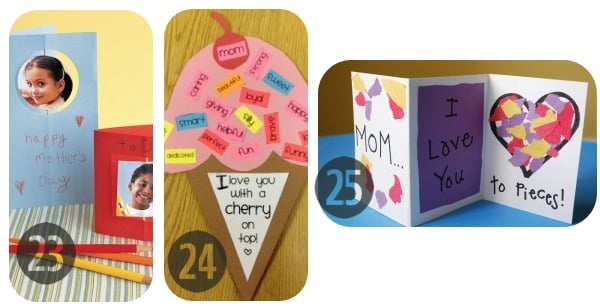 25 Homemade Mother's Day Cards 23-25