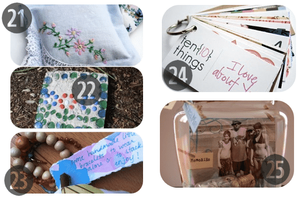 25 Homemade Mother's Day Gifts 21-25