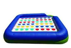 Outdoor party game inflatable twister