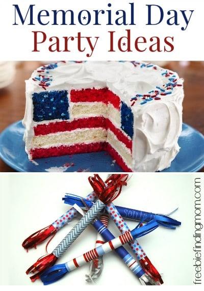 Memorial day party ideas diy patriotic food and decorations