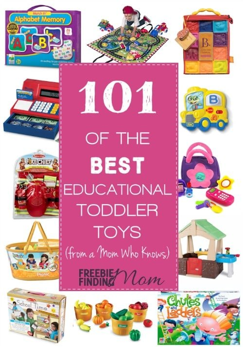 Top Educational Toys For Toddlers : Of the best educational toddlers toys from a mom who
