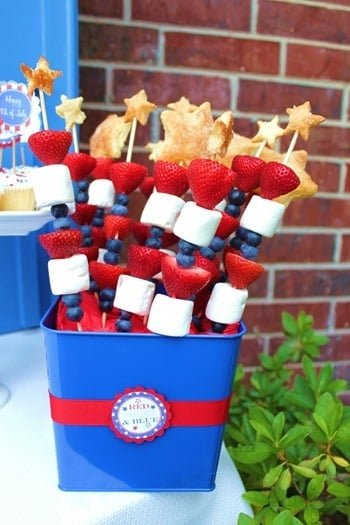 Memorial Day Party Ideas - kabobs