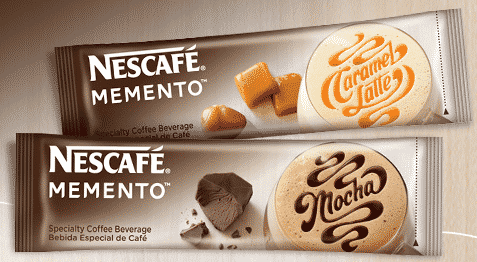 Freebie:  FREE Nescafe Memento Coffee Sample
