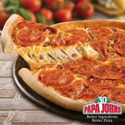 Papa John's Coupons Codes: 40% Off Any Large Regular Menu Priced Pizza + More Pizza Deals