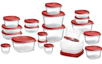 Amazon Best Bargain of the Day: 42-Piece Rubbermaid Easy Find Lid Food Storage Set Only $15.99 (Regularly $26.65)
