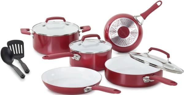Amazon Best Bargain of the Day: Up to 60% Off Select 10- or 15-Piece WearEver Cookware Sets