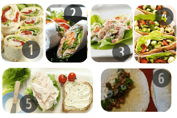 Healthy Cold Lunch Ideas 1-6