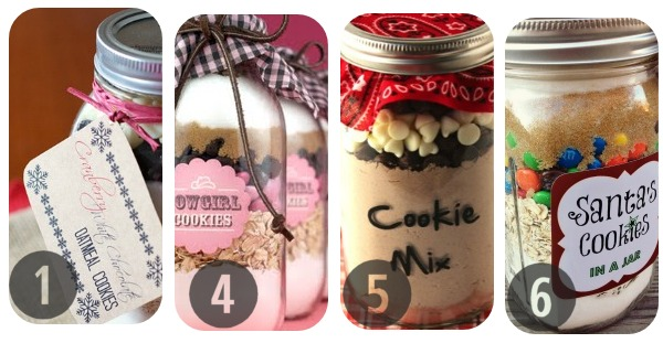 25 Mason Jar Cookie Recipes 1-6